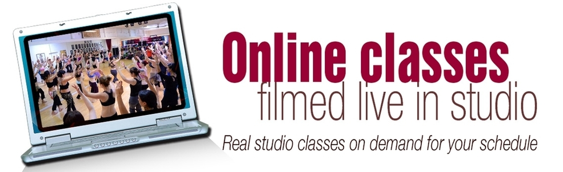 Online belly dancing classes filmed live in studio. Real studio classes on demand for your schedule.